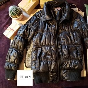 Forever 21 puffed jacket